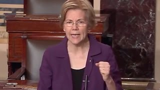 Elizabeth Warren DESTROYS Trump for LYING to the American People About Big Banks