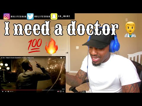 Dr. Dre - I Need A Doctor (Explicit) ft. Eminem, Skylar Grey | REACTION