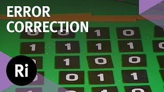 The Mathematics of Error Correction - with Marcus du Sautoy