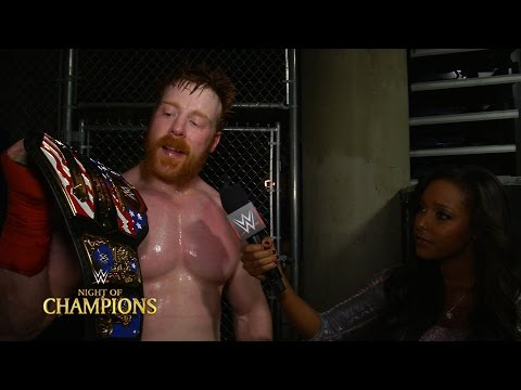 Sheamus comments on retaining his United States Championship at Night of Champions