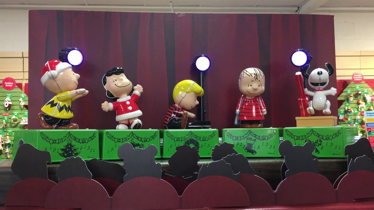 cute peanuts christmas from the hallmark store - Peanuts Christmas Dance