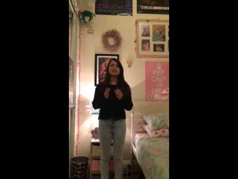 Adrianna Bertola singing 'Who You Are' by Jessie J