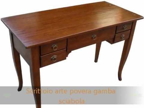 Scrivanie classiche in legno gambe scrivanie per ufficio