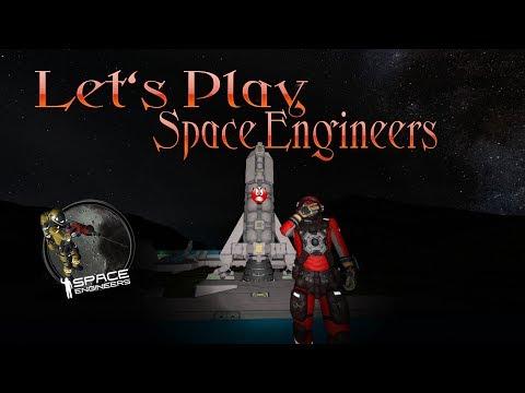 Let's Play - Space Engineers - S01E02 - Die Hydrogen Rakete