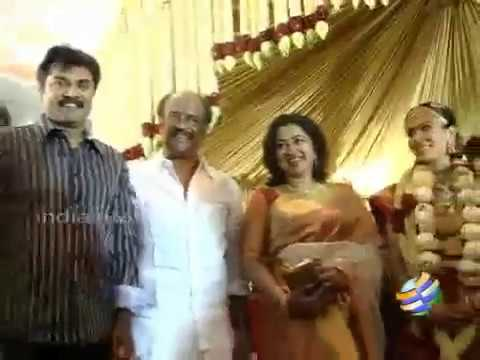 Rajinikanth daughter Soundarya marriage video