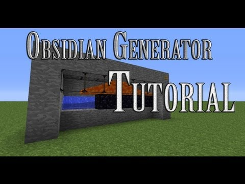 [Tutorial] How To Make An Obsidian Generator In Minecraft