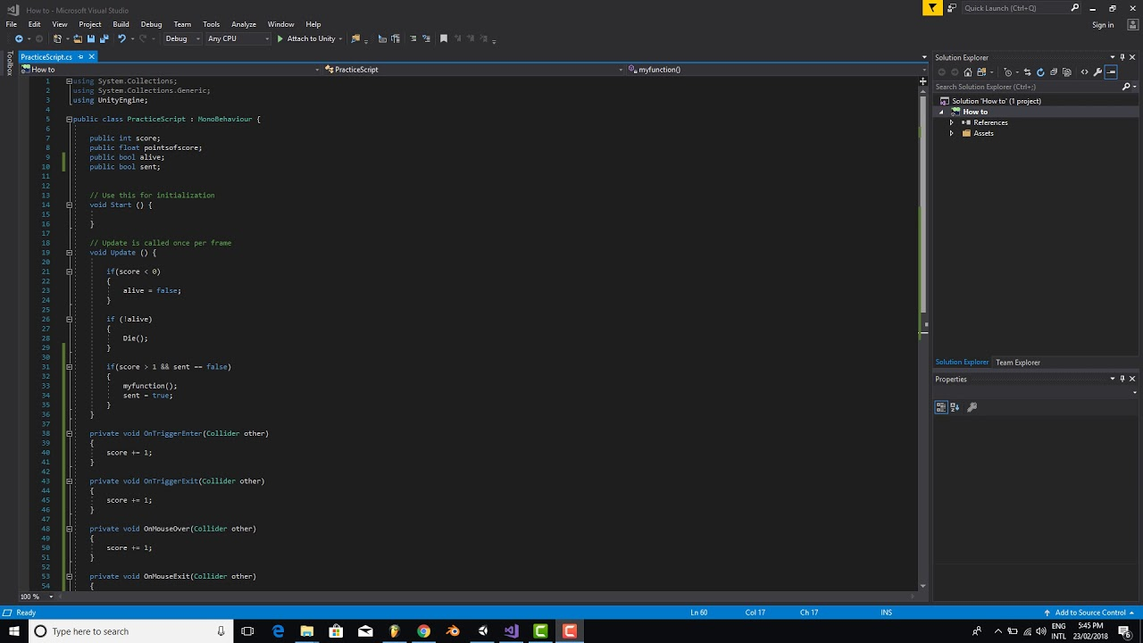C# Programming Tutorial Series - Unity3d