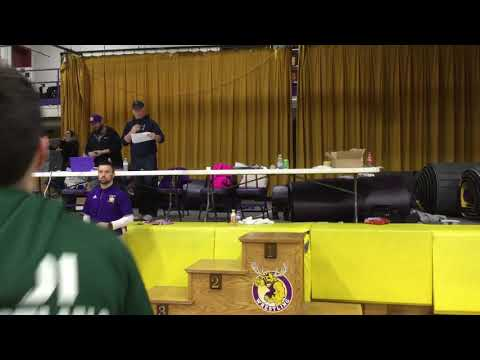 Bucksport High School Tournament 1/26/19 182lb awards ceremony
