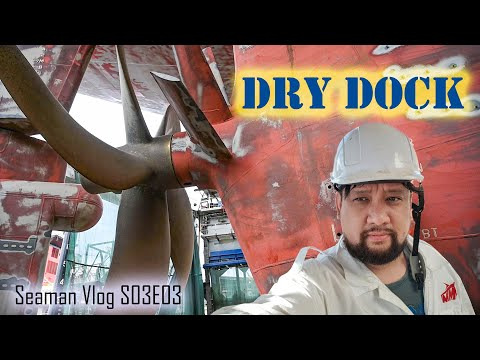 Ship in Dry Dock: First Day at Work | Seaman Vlog S03E03 | Chief MAKOi