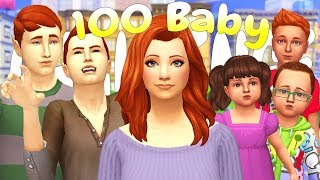 NEW HOME, NEW BABIES!! 100 BABY CHALLENGE | (Part 85) The Sims 4: Let's Play