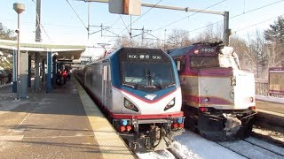 *ACS64#600 Leads 171 on First Revenue Train! RTE 128 Westwood MA