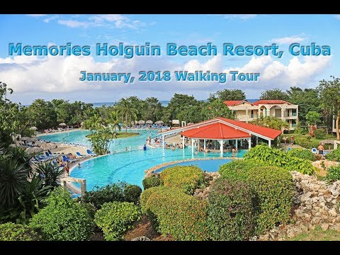 Memories Holguin Beach Resort: Walking Tour (January, 2018)