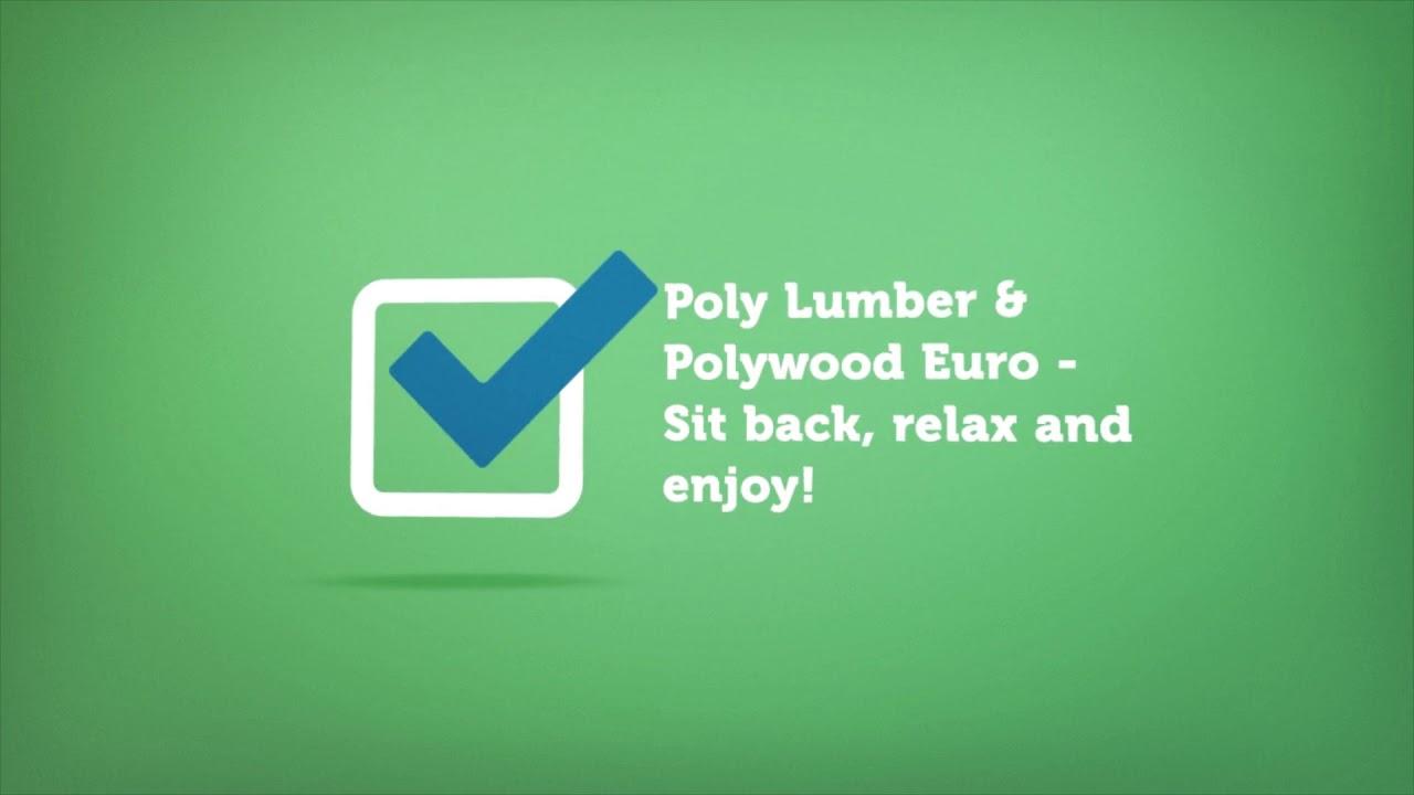Polywood Euro | Premium Poly Patios :  (877-904-1234)