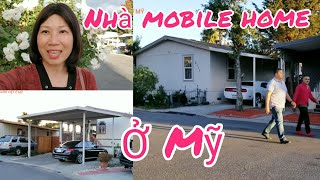 Nhà mobile home ở San Jose, California (Người Việt ở Mỹ)