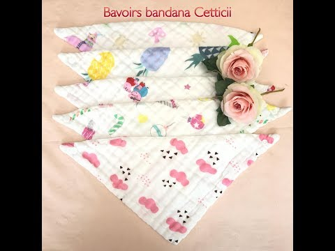 Bavoirs bandana Cetticii