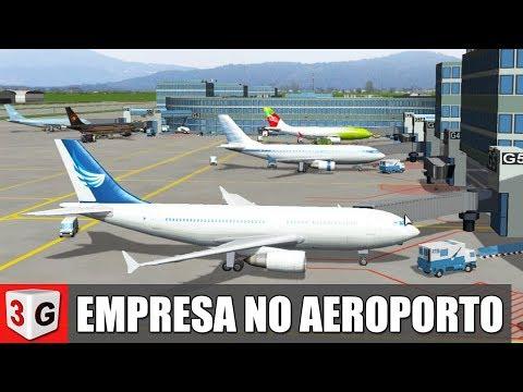 COMPREI UMA EMPRESA NO AEROPORTO - AIRPORT SIMULATOR 2019 PT-BR (PC)