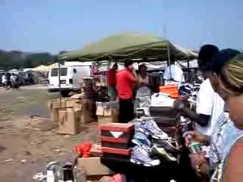 What is the market information for the flea market on route 206 in New Jersey?