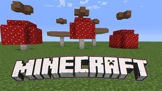 ГРИБНОЙ ОСТРОВ В МАЙНКРАФТЕ Minecraft 1.11. Выживание 38