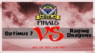 🔴 Live  | Elite War League S3 Finals | Optimus 7 VS Raging Dragoons | Ivory Division | War 15v15