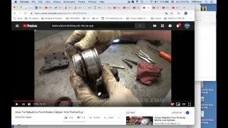 Brake Caliper Brake Piston Brake Guide pins Brake repair Pascal