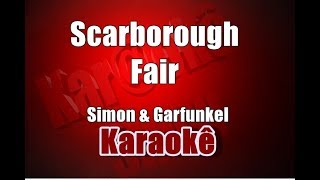 Scarborough Fair - Simon & Garfunkel - Karaoke