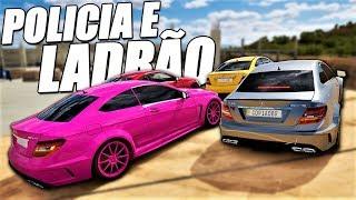 POLICIA E LADRÃO O GQ GAMES TÁ DE HACK - FORZA HORIZON 3