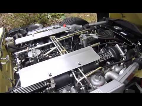 71 E Type V12 Quad Tailpipe Music