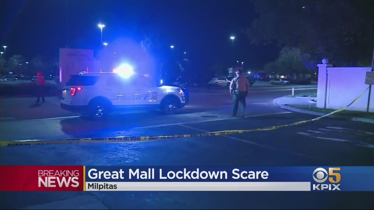 Smash-And-Grab Robbery Attempt At Great Mall Triggers Shooting Scare, Lockdown