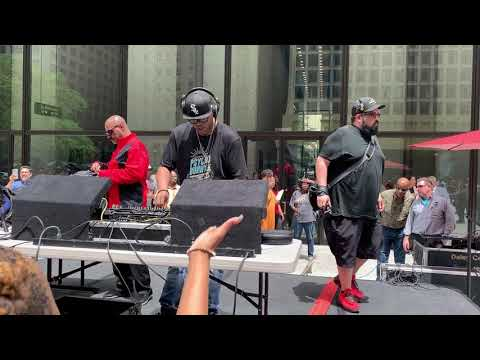 Chosen Few DJ'S House Music At Daley Plaza 06.05.2019