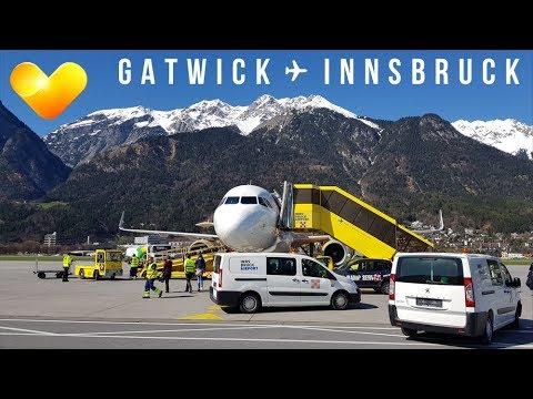 TRIP REPORT   Thomas Cook Airbus A321   London Gatwick - Innsbruck   MT1098 G-TCDE