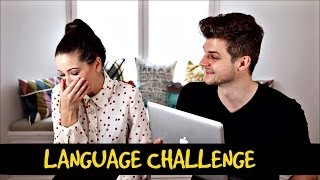 LANGUAGE CHALLENGE WITH ZOELLA