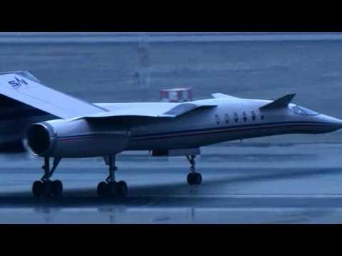 QSST supersonic business jet concept
