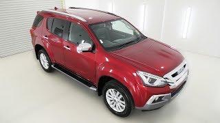 ISUZU MU-X LST Magnetic Red 4x4 Auto Wagon I70566450