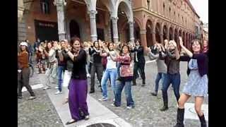 flashmob flamenco bologna p.zza Santo Stefano 29 settembre 2012