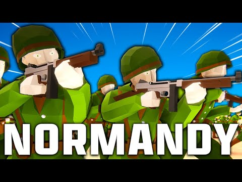 INSANE D-Day Landings!? Total Tank Simulator WW2 D-Day Normandy Invasion! |