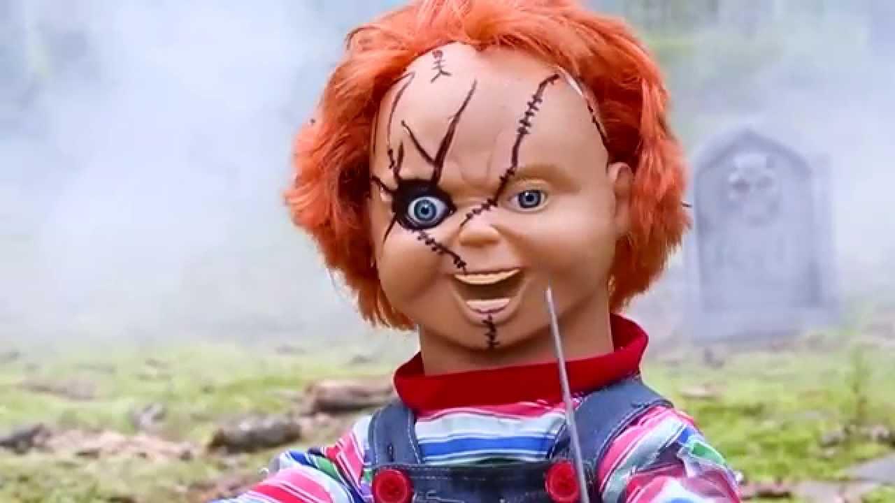 Talking Chucky Doll Spirit Halloween Youtube