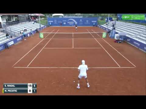 Sumit Nagal Vs Matija Pecotic - ATP Banja Luka Challenger Round 3 Highlights