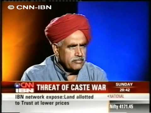 CNN IBN Kirori Singh Bainsla 17 6  2007