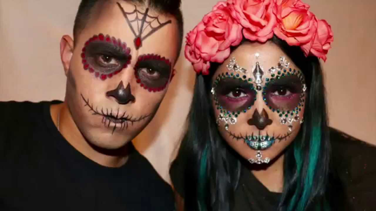 day of the dead makeup couple - photo #40