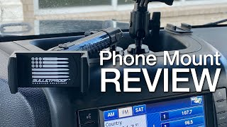 Jeep Phone Mount Install and Review - Bulletproof Mounting Solutions - Is it better than RAM Mount?