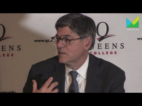 Treasury Secretary Jack Lew on Apple's tax bill and the next financial downturn