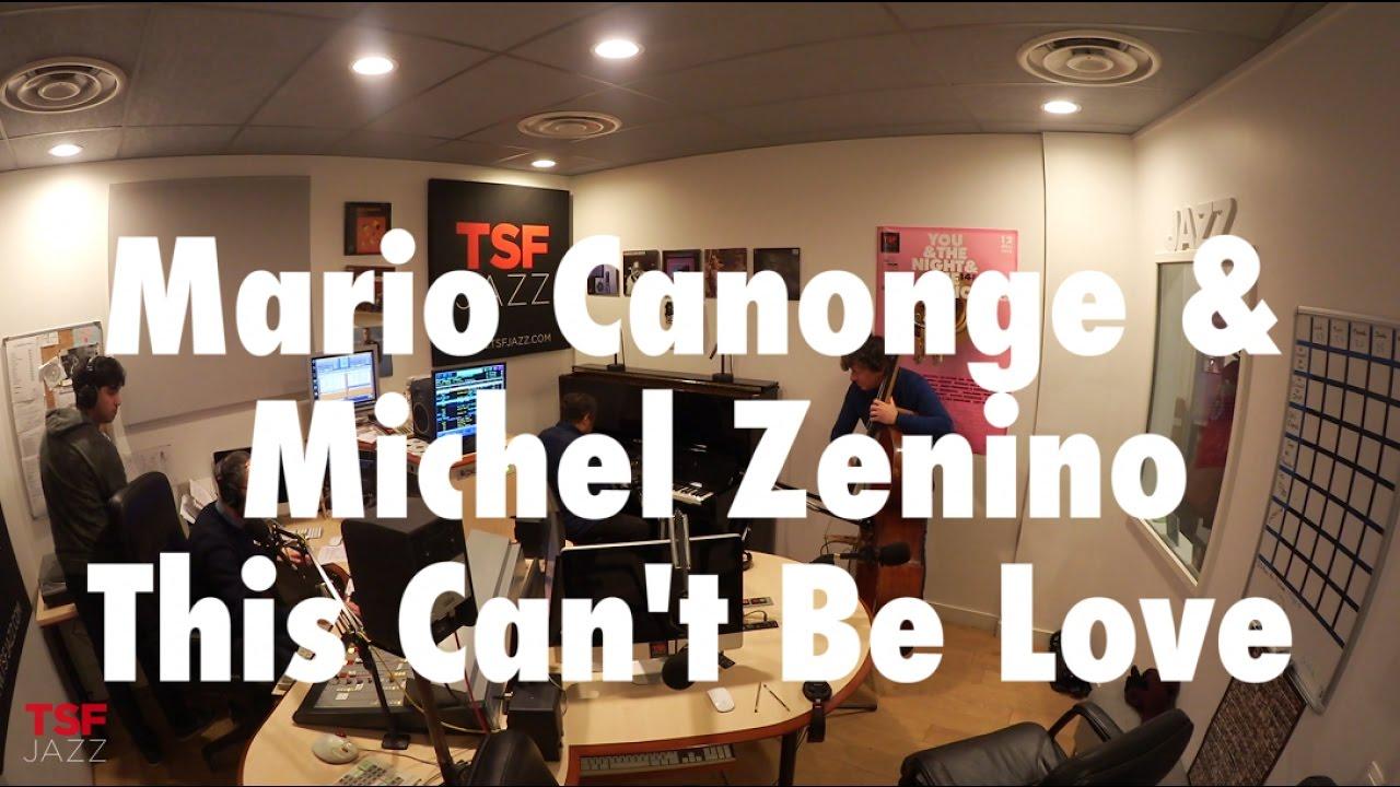 Mario Canonge et Michel Zenino | en session live sur | TSF JAZZ