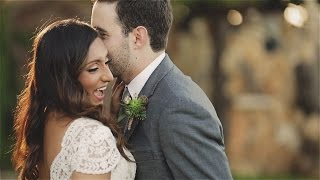 Wild Onion Ranch wedding {Austin, Texas wedding video}