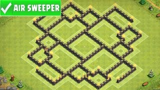 Clash Of Clans | AMAZING TOWN HALL 8 FARMING BASE (ENNEAD MINI 2) AIR SWEEPER TH8 UPDATE