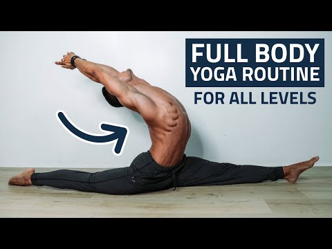 Full Body Home Yoga Routine For Strength, Flexibility & Stability