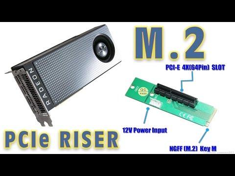 M.2  A GPU bővítés másik módja