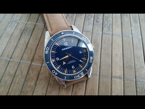 Debert 41mm Omega seamaster 300 master coaxial Homage