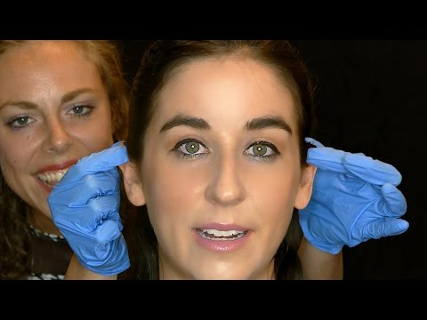 OMG! REAL ASMR Ear Cleaning & Ear Massage On A Person! Binaural Human 3Dio