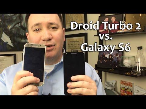 Samsung Galaxy S6 vs Motorola Droid Turbo 2 - Comparison Full Review