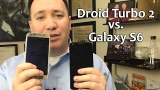 Samsung Galaxy S6 vs Motorola Droid Turbo 2 - Comparison Full Review